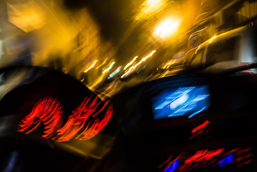 Pijany kierowca ma osłabioną percepcję