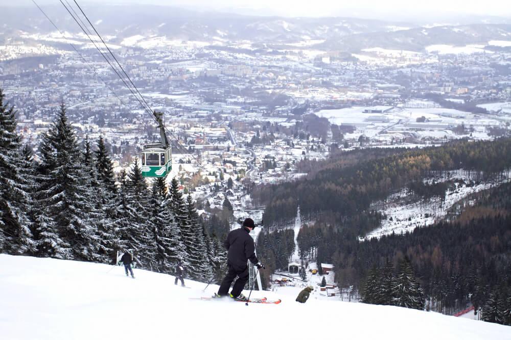 narty w Czechach