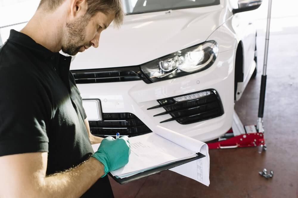 Przegląd generalny nowego samochodu