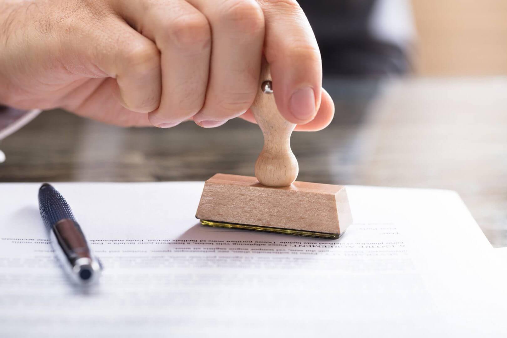 Kary za brak OC