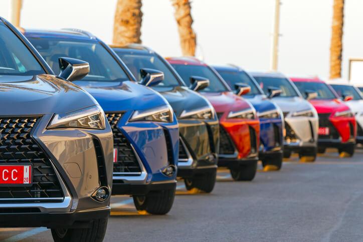 Składki za ubezpieczenie AC samochodów marki Toyota