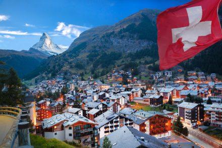 Narty w Szwajcarii w 2021
