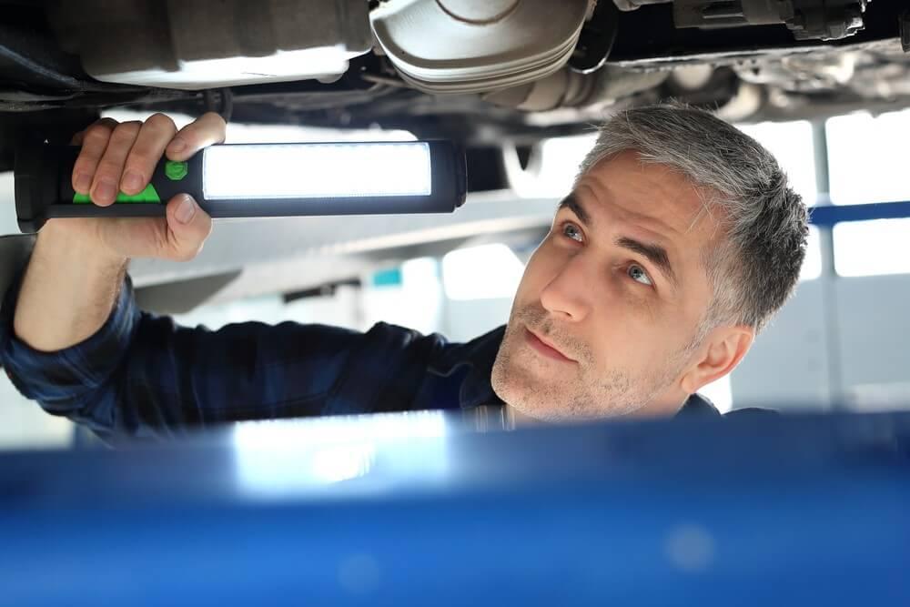 Przegląd techniczny podwozia auta