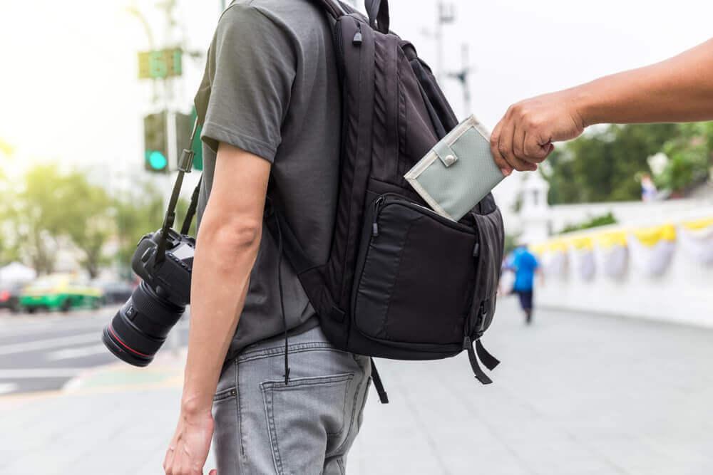 Ubezpieczenie podróżne i kradzież