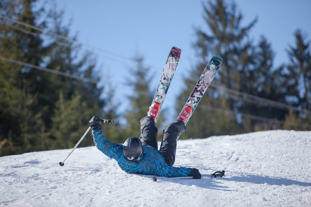 najczęstsze wypadku na nartach