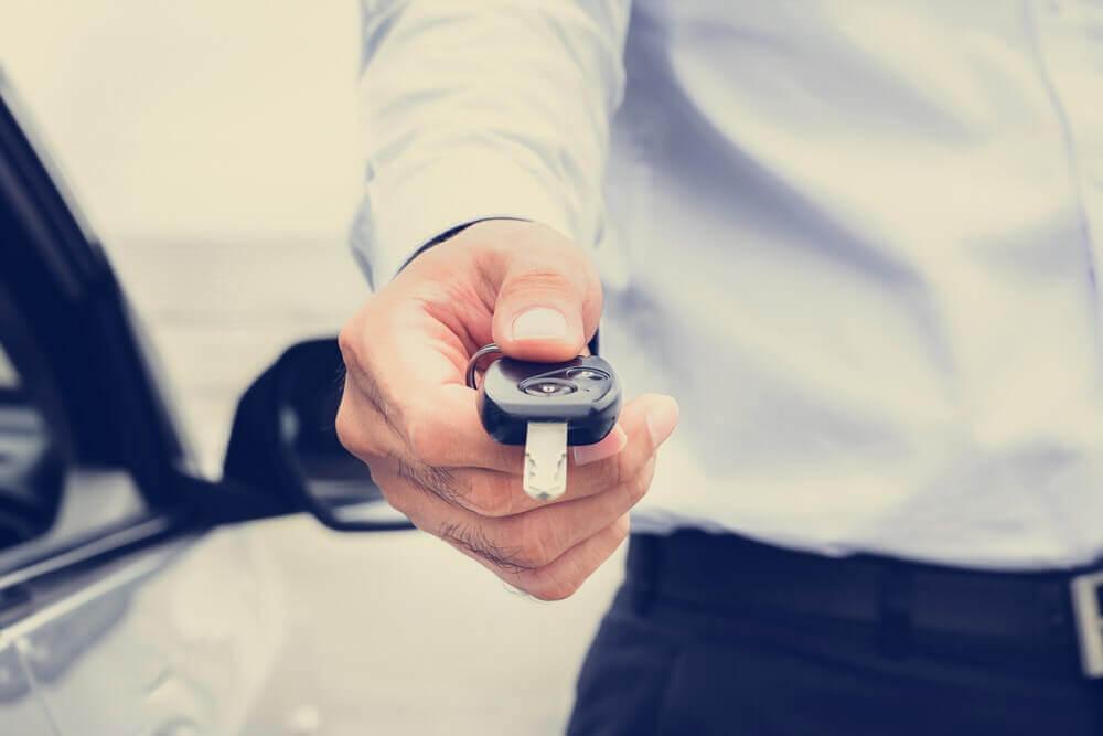 Odbiór kluczyków to moment kupna samochodu