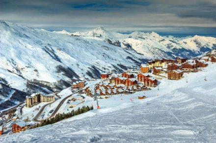 Ranking stoków narciarskich we Francji – TOP 5