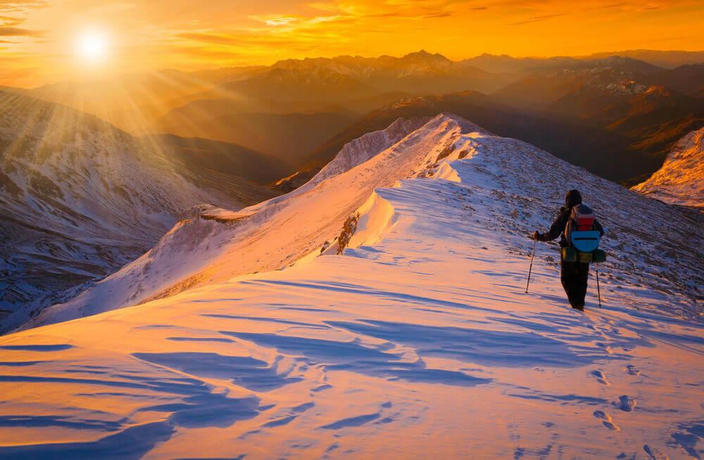 trekking w zimie – ubezpiecz się