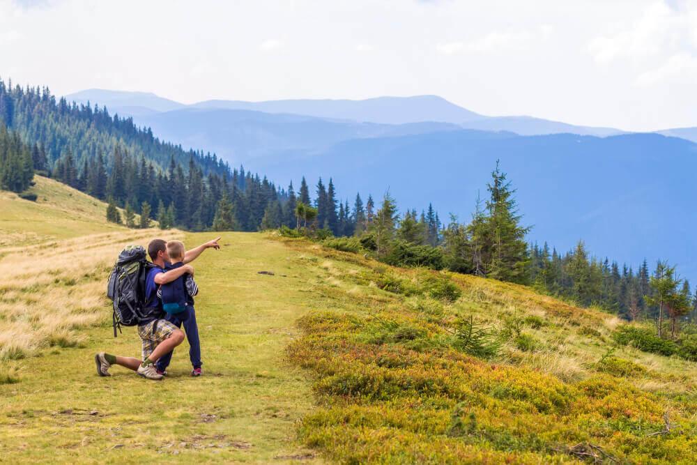 gdzie na wakacje z małym dzieckiem – góry