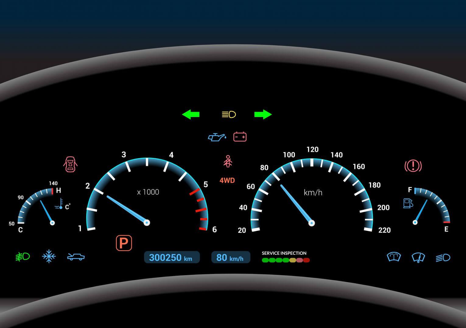 Znaczenie kontrolek w samochodzie – czy Twoje auto jest sprawne?